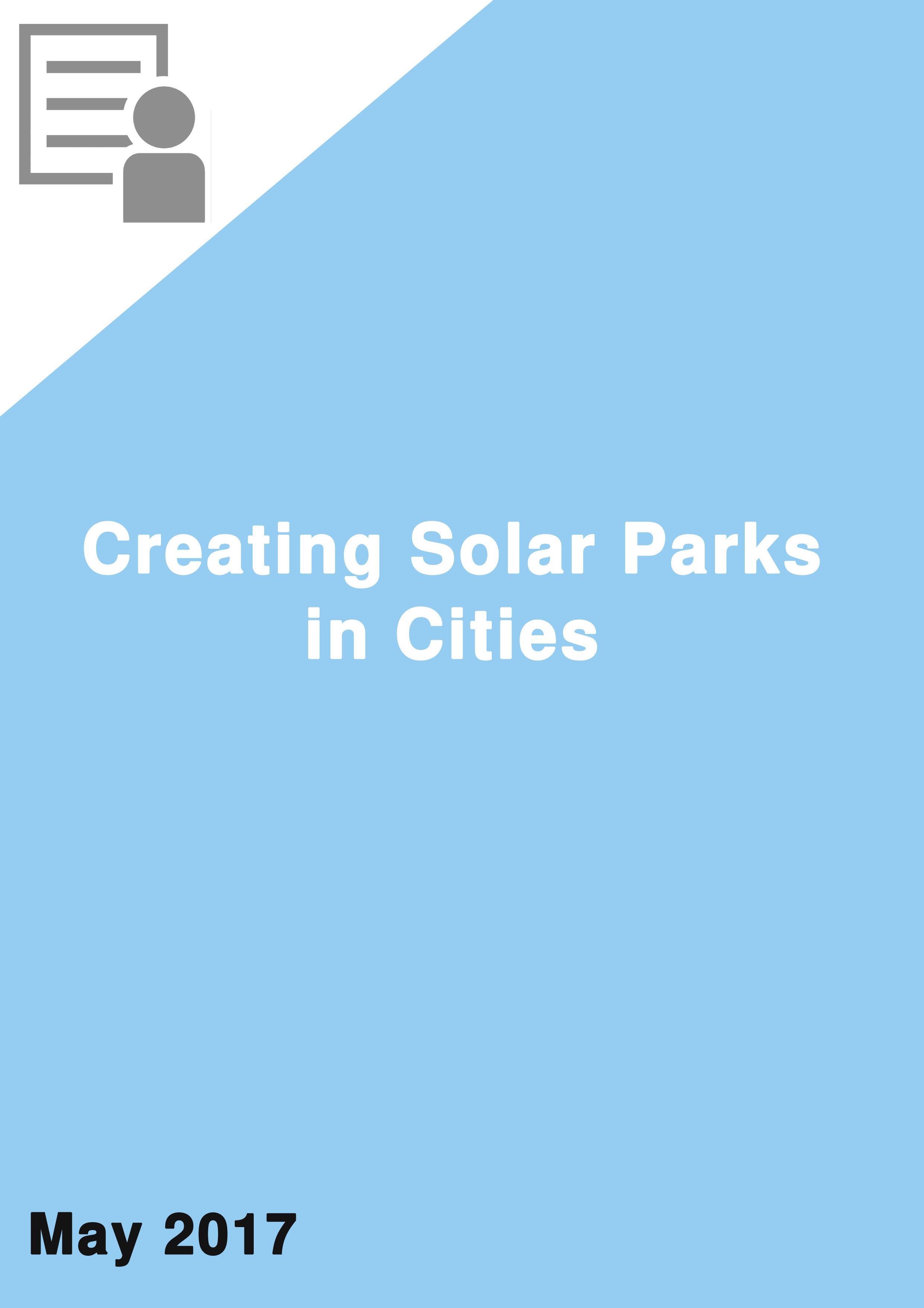 "Creating Solar ""Parks"" in Cities"