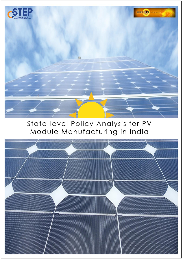 State-level Policy Analysis for PV Module Manufacturing in India