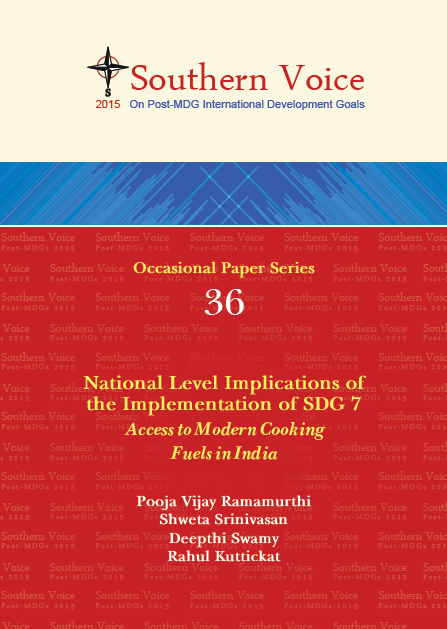 National Level Implications of The Implementation Of SDG 7 Access to Modern Cooking Fuels in India