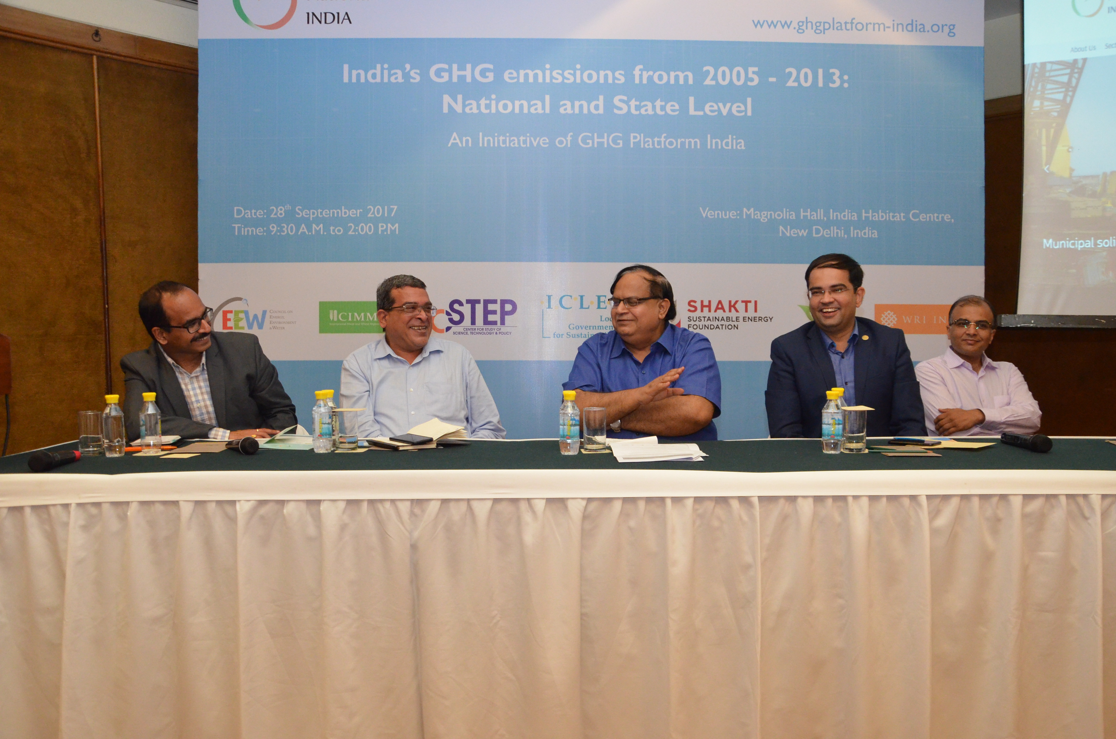 GHG Platform India: Emissions Workshop