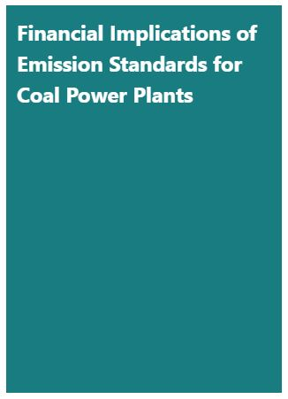 Financial Implications of Emission Standards for Coal Power Plants