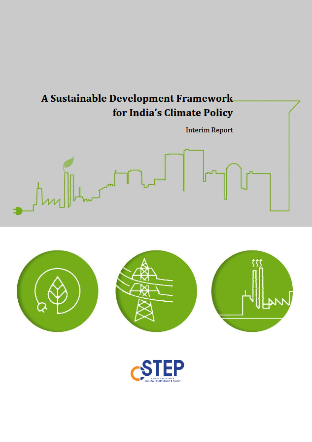 A Sustainable Development Framework for India's Climate Policy