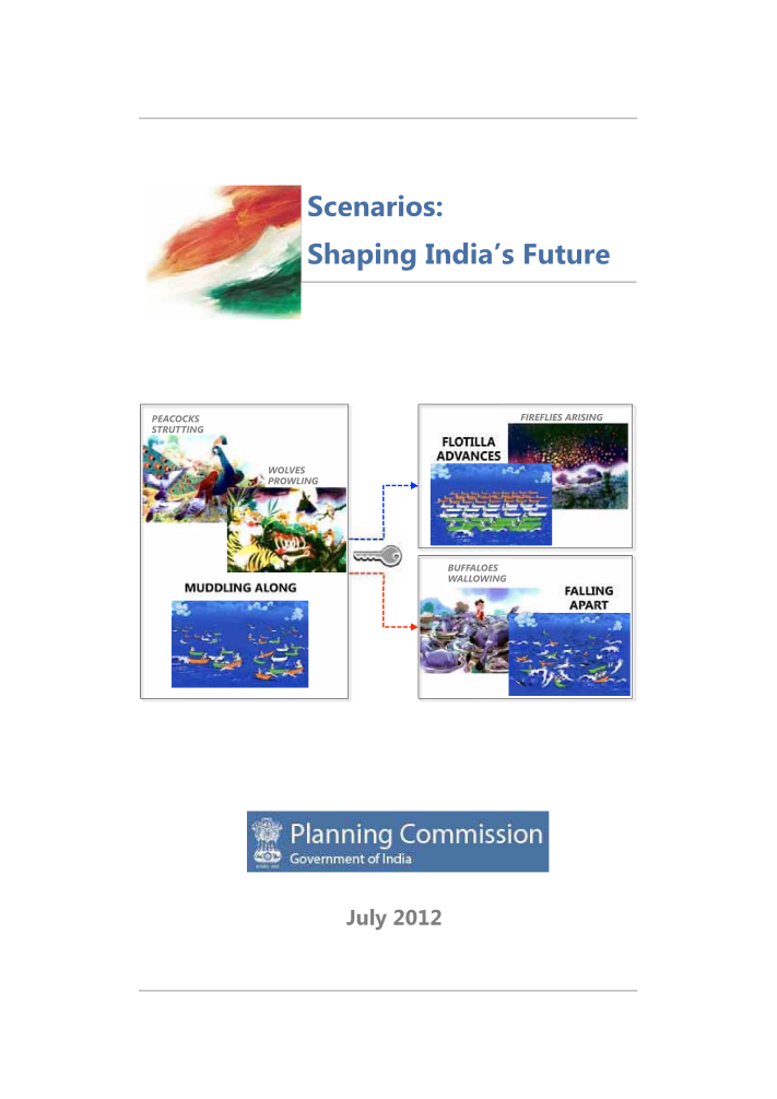 Scenarios: Shaping India's Future