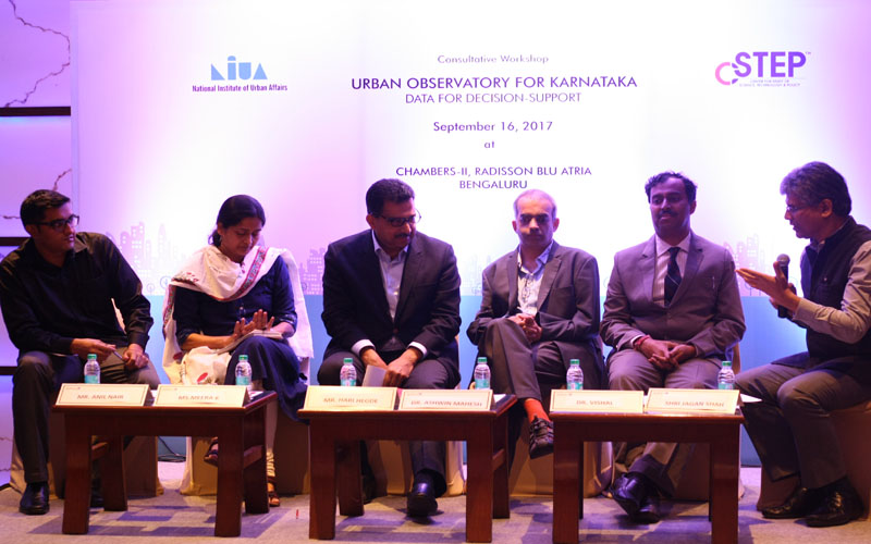 Workshop on Urban Observatory for Karnataka