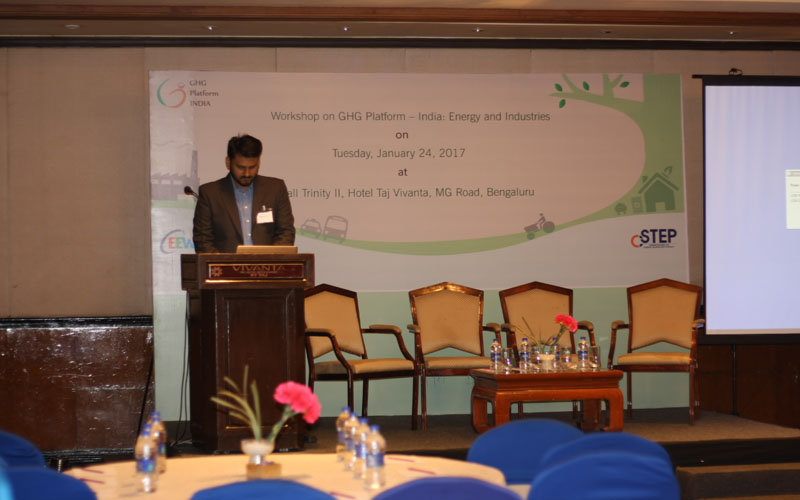 Workshop on GHG Platform India: Energy and Industries