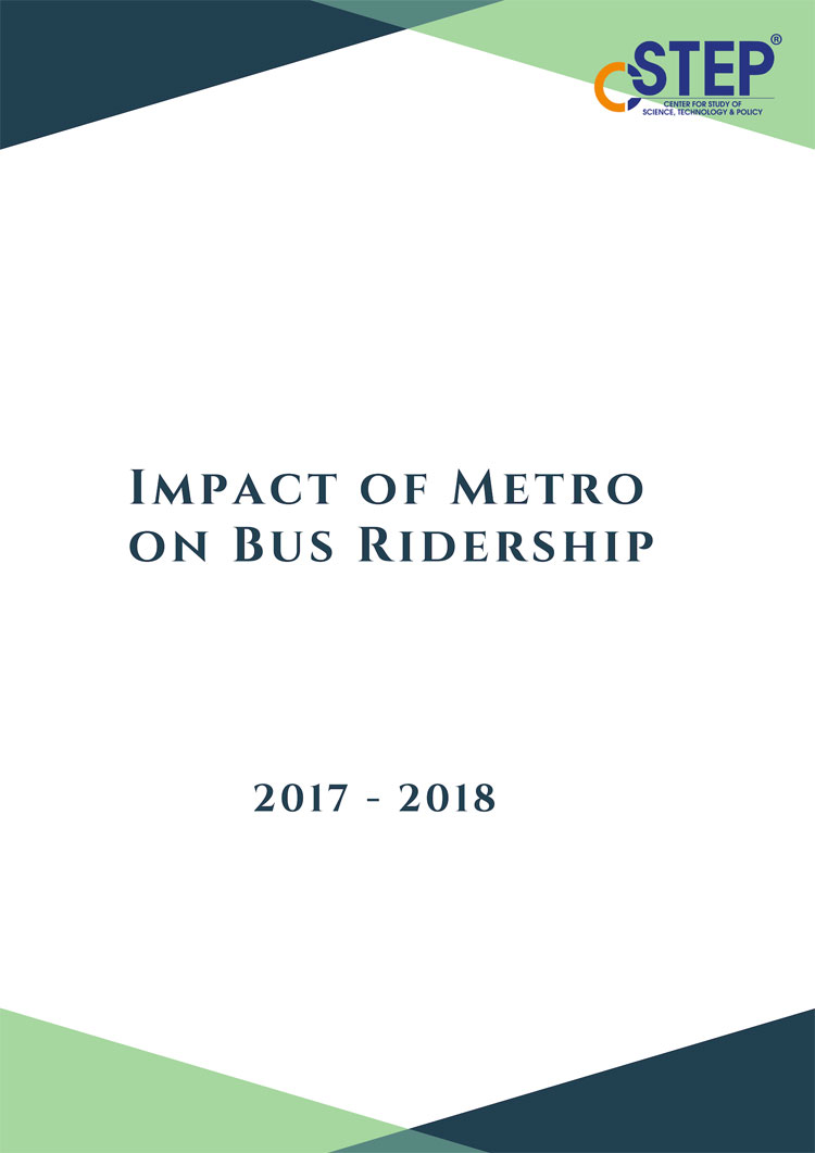 Impact of Metro on Bus Ridership