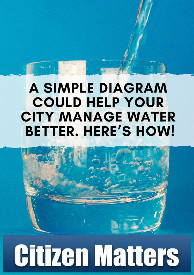 A simple diagram could help your city manage water better. Here's how!