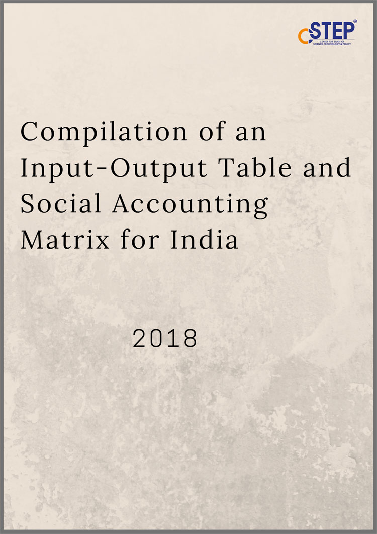 Compilation of Input-Output Table and Social Accounting Matrix for India
