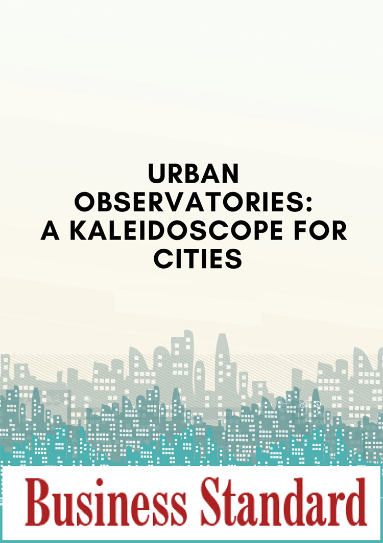 Urban Observatories: A kaleidoscope for cities
