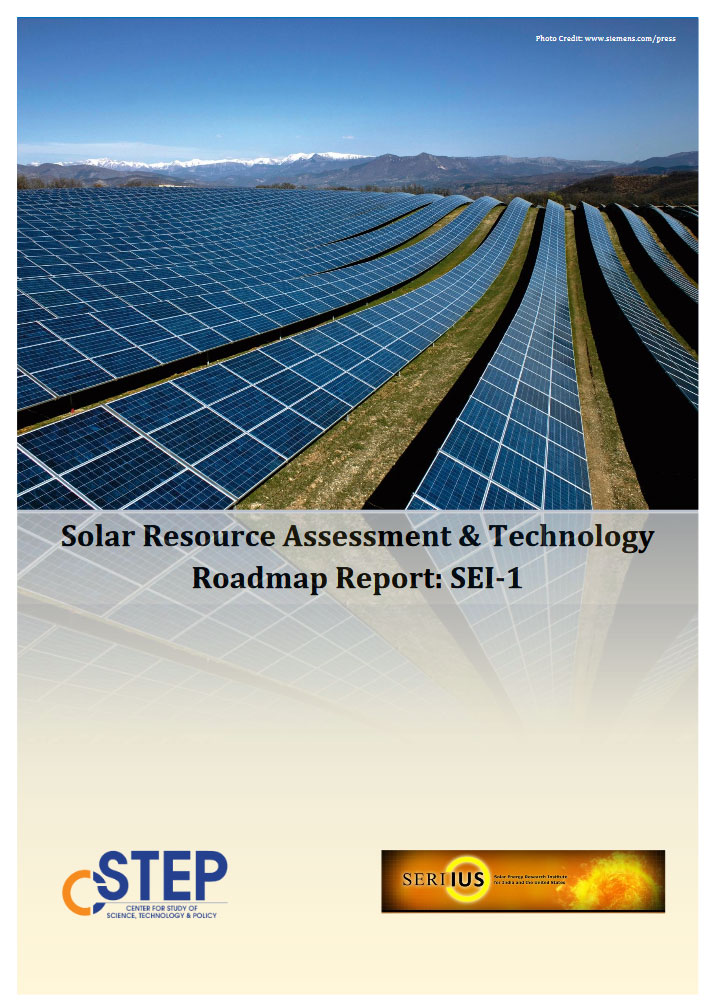 Solar Resource Assessment & Technology Roadmap Report: SEI-1