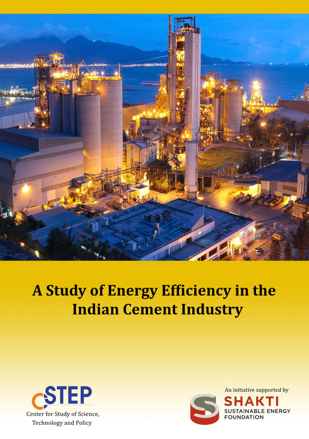 A study of Energy Efficiency in the Indian Cement Industry