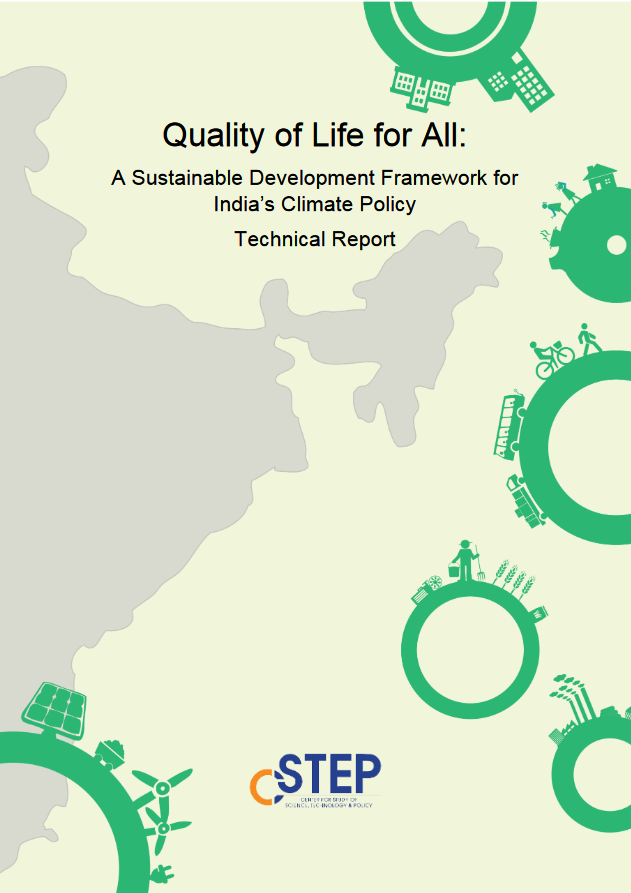 Quality of Life for All: A Sustainable Development Framework for India's Climate Policy