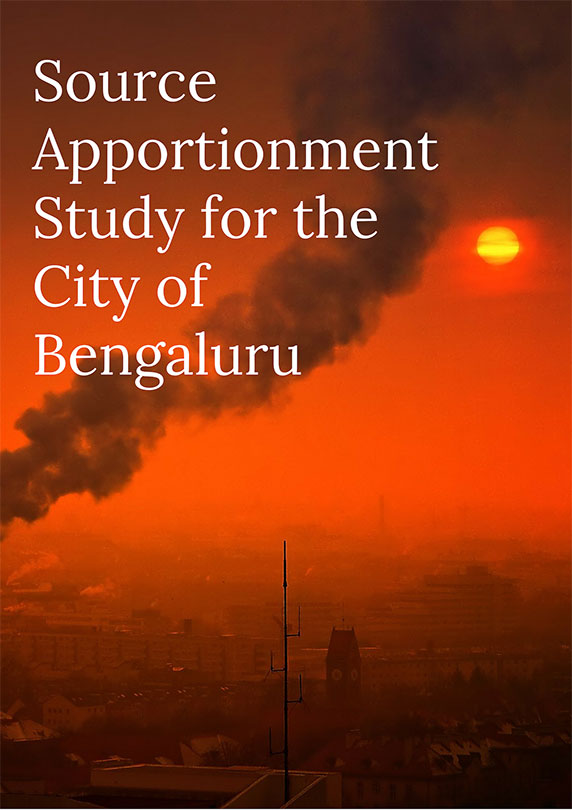 Source Apportionment Study for the City of Bengaluru