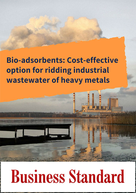Bio-adsorbents: Cost-effective option for ridding industrial wastewater of heavy metals
