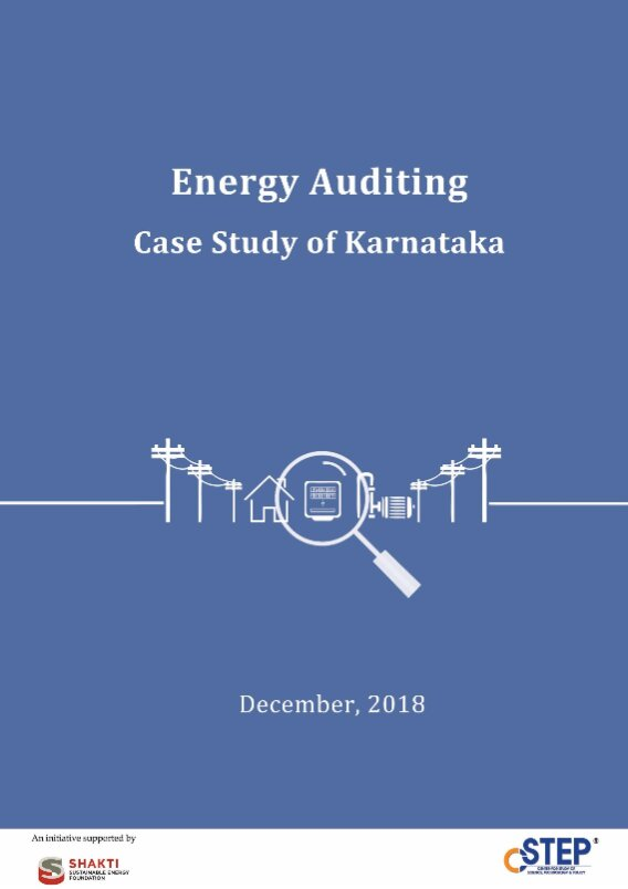 Energy Auditing: Case Study of Karnataka