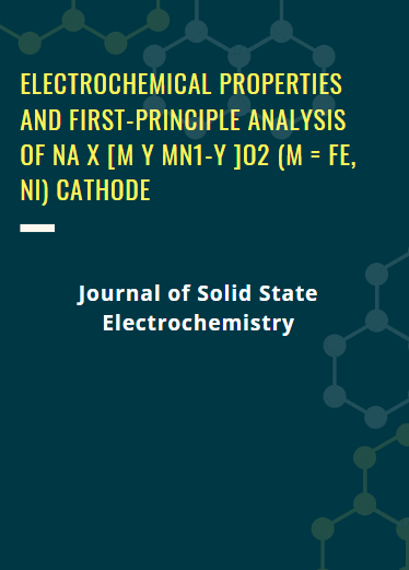 Electrochemical Properties and First-Principle Analysis of Na x [M y Mn1-y ]O2 (M = Fe, Ni) Cathode