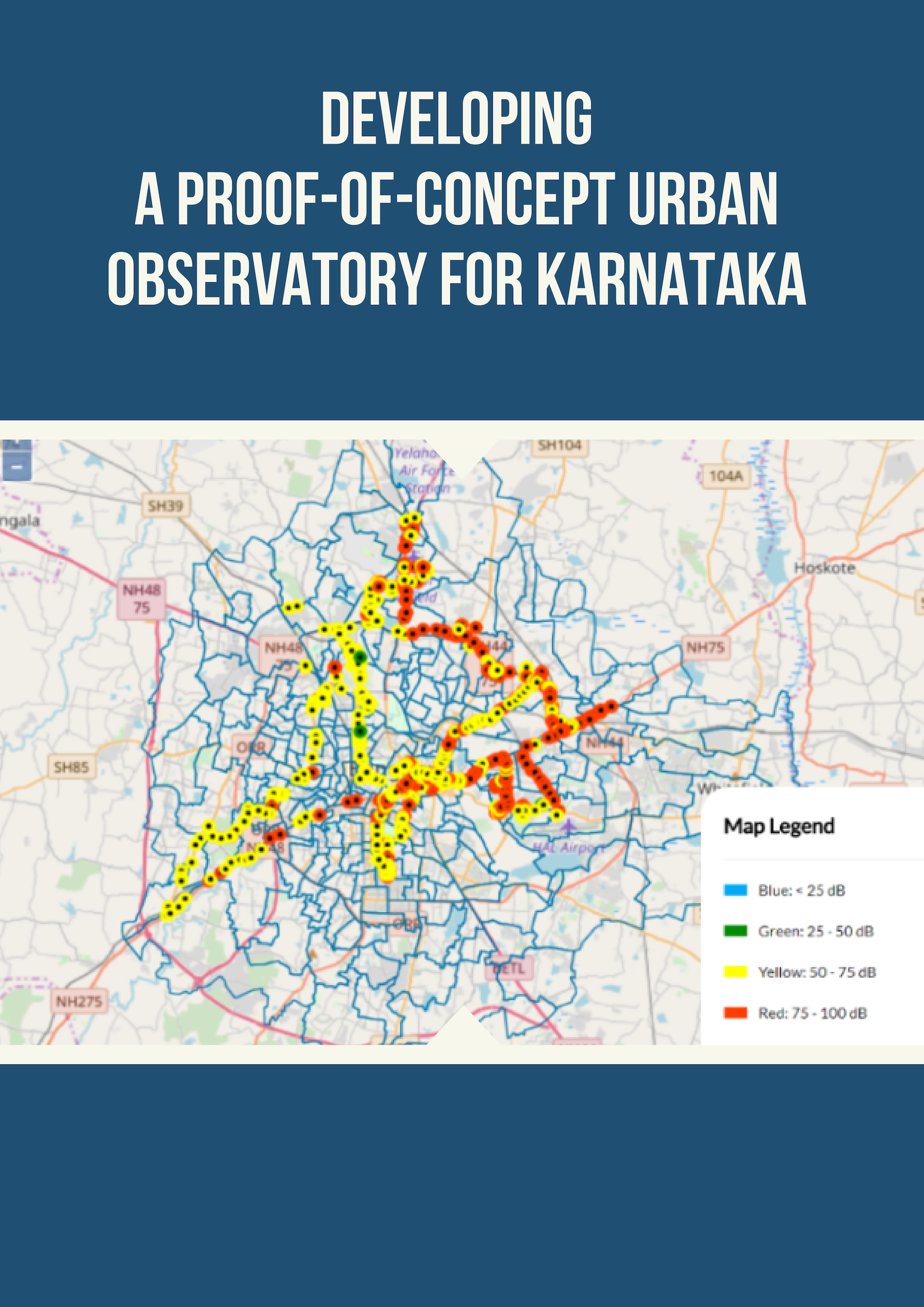 Developing a Proof-of-Concept Urban Observatory for Karnataka