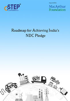 Roadmap for Achieving India's NDC Pledge
