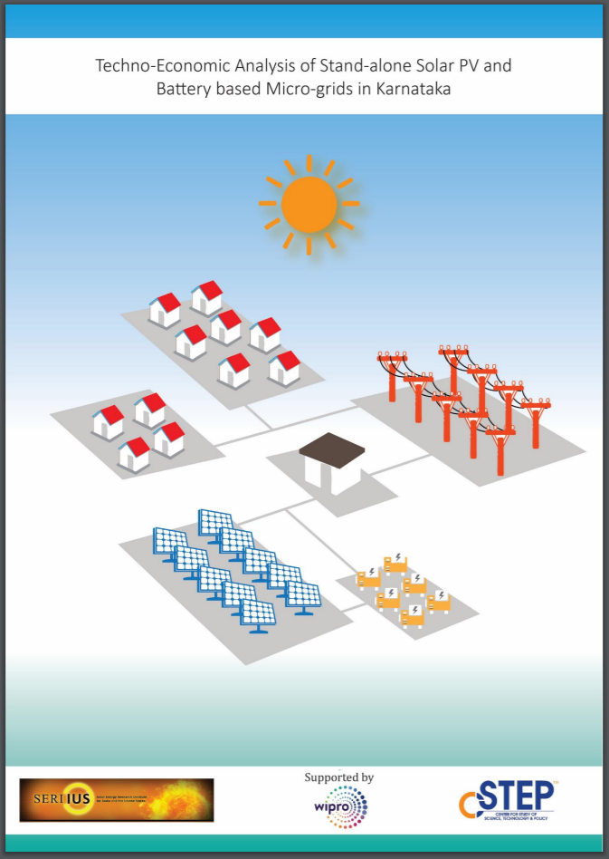 Techno-Economic Analysis of Stand-Alone Solar PV and Battery-Based Micro-Grids in Karnataka