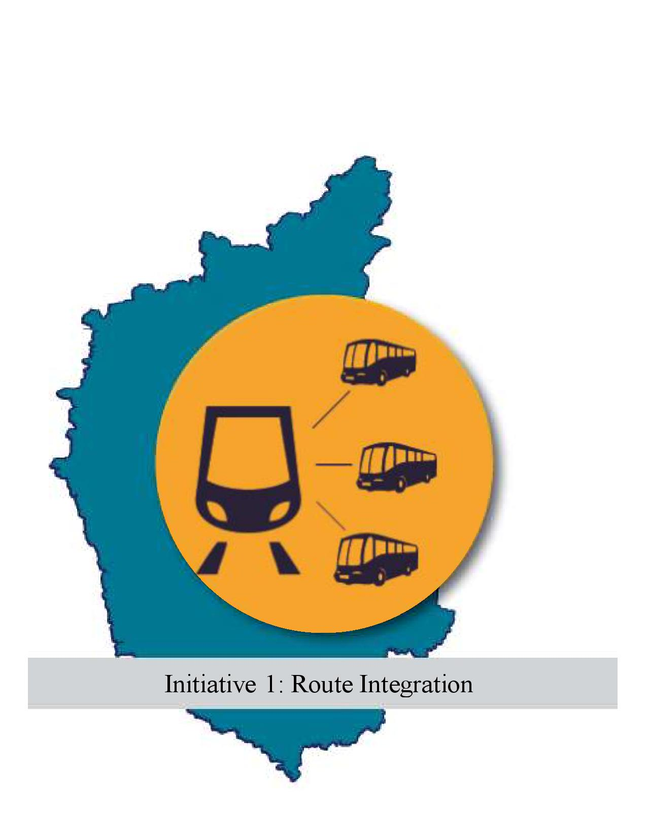 Route Integration of BMTC and BMRCL