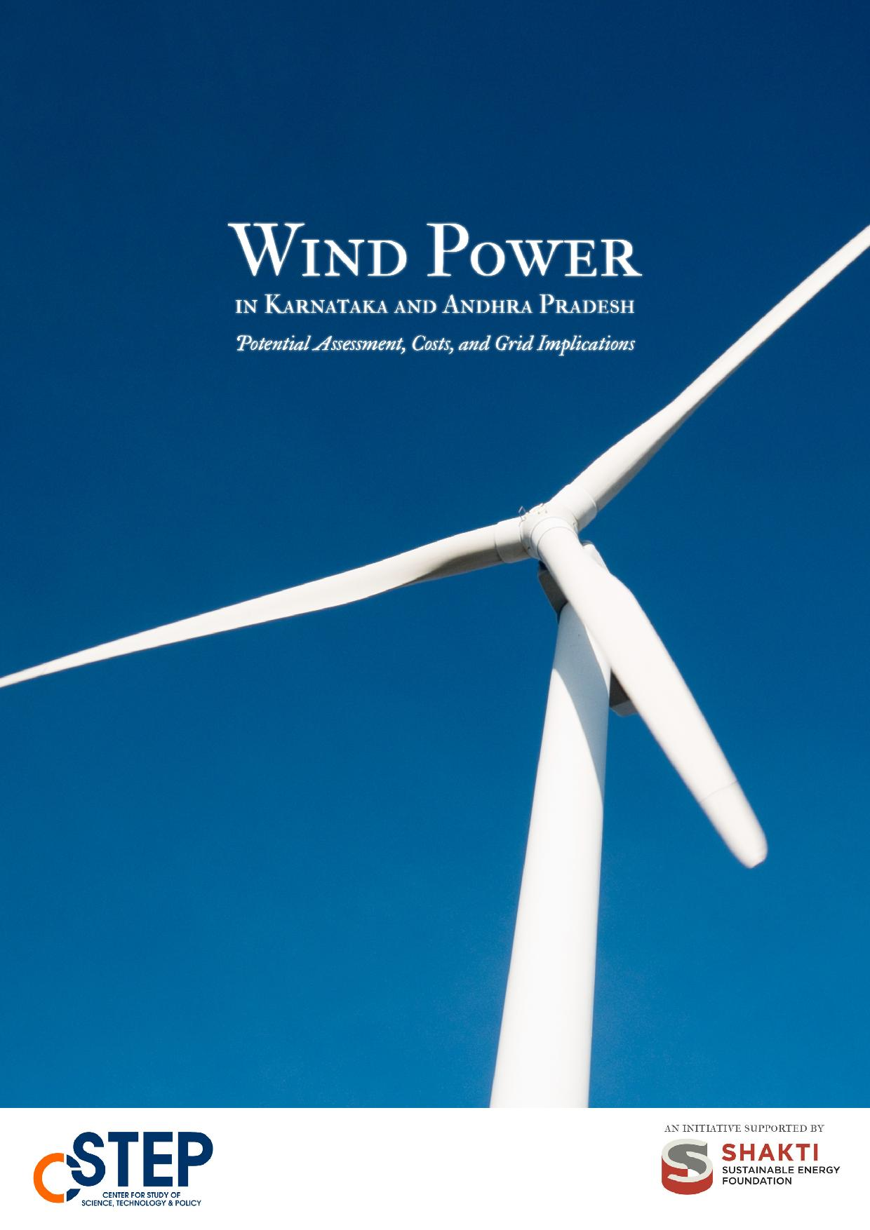 Wind Power in Karnataka and Andhra Pradesh - Potential Assessment, Costs, and Grid Implications