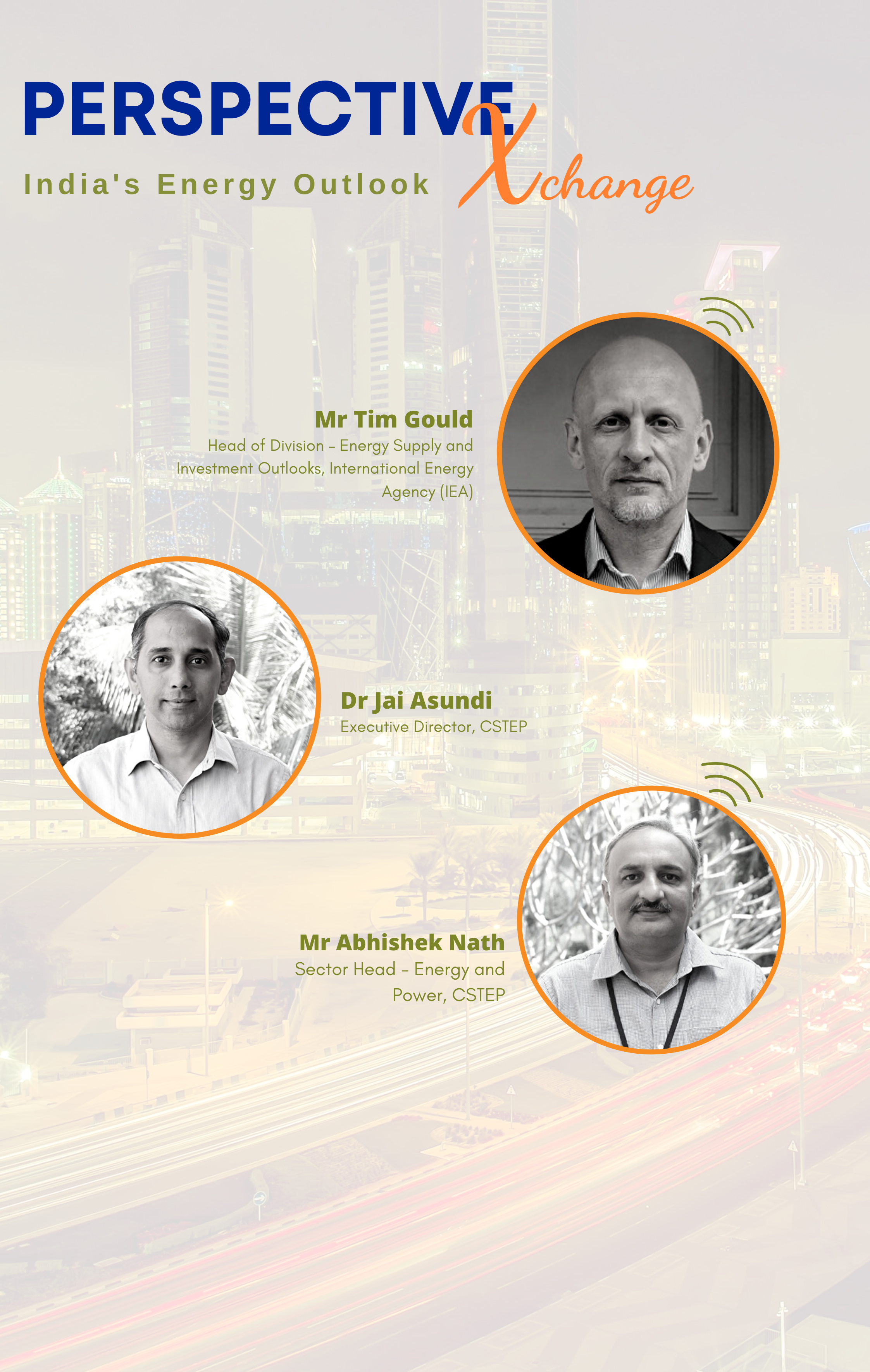 Perspective Xchange: Dr Jai Asundi and Mr Abhishek Nath in conversation With Mr Tim Gould